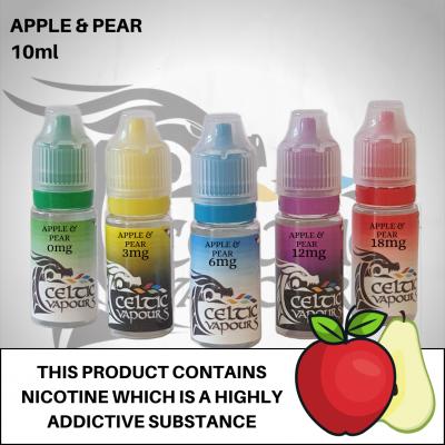 Apple & Pear 10ml