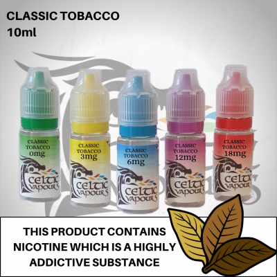 Classic Tobacco 10ml