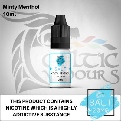 Minty Menthol Nic Salt 10ml 20mg